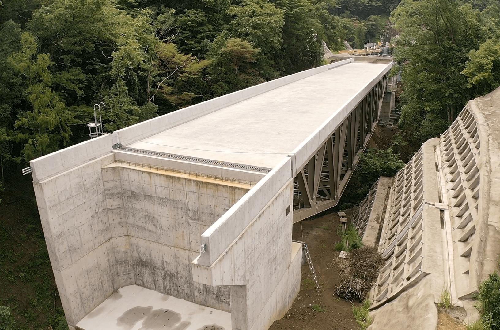 法洗沢川橋