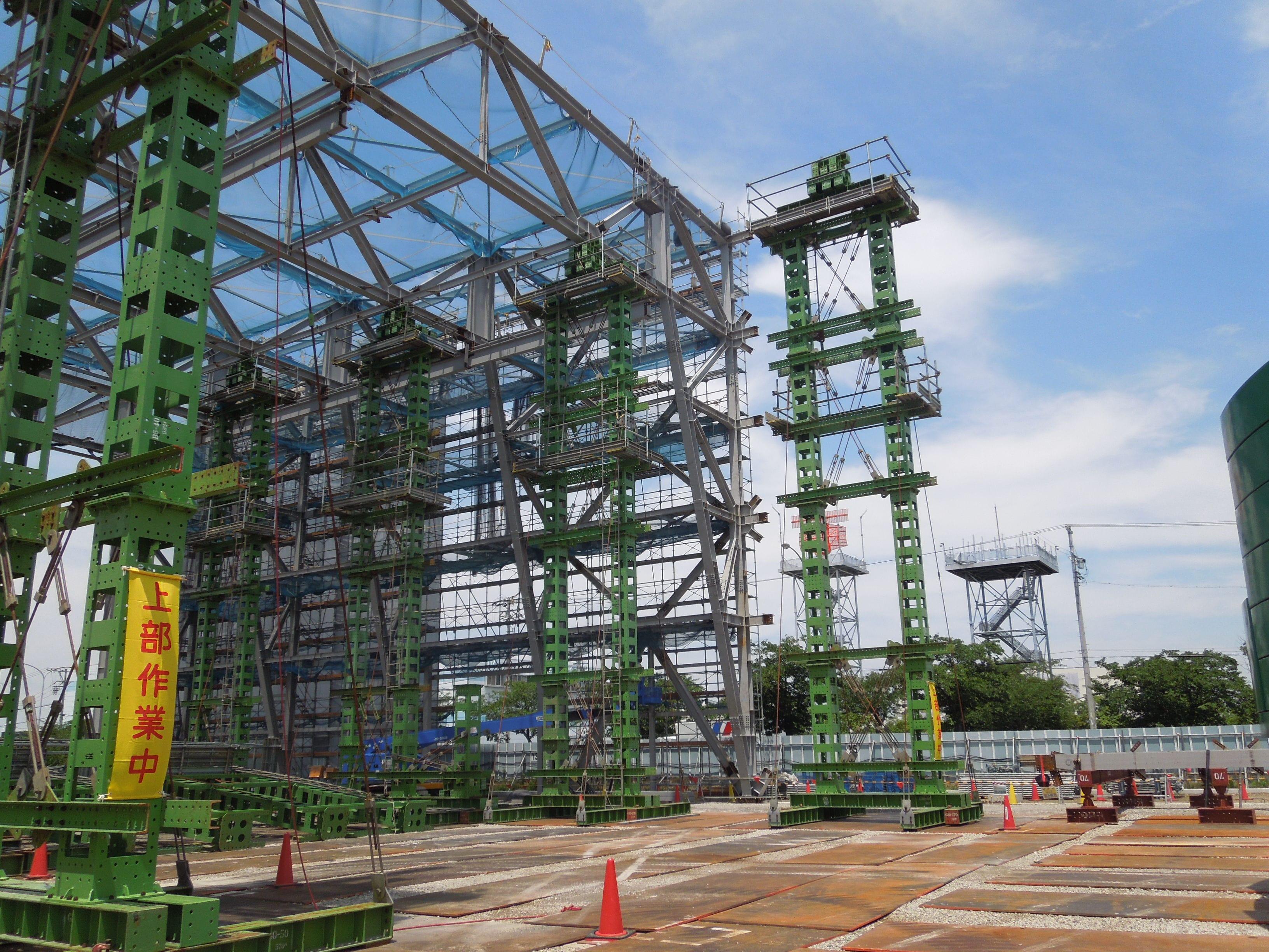 愛知県大規模展示場西棟