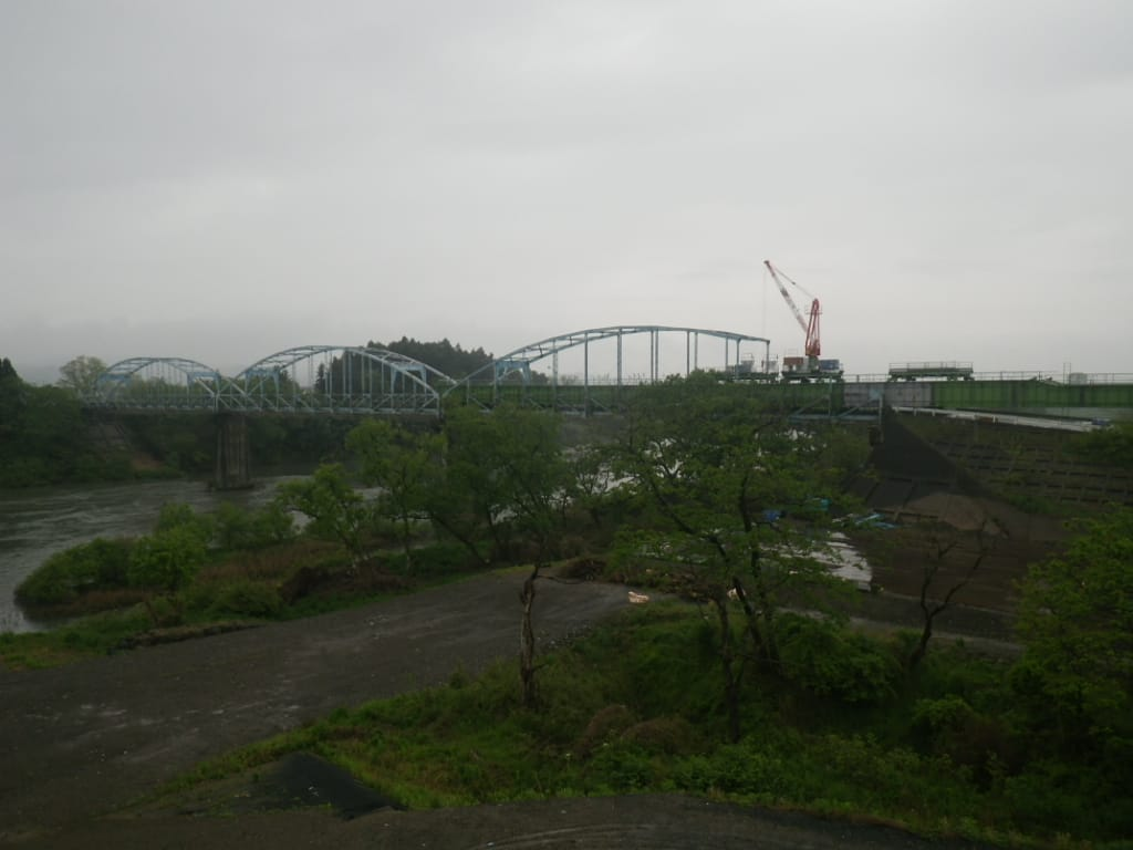 柵の瀬橋旧橋撤去