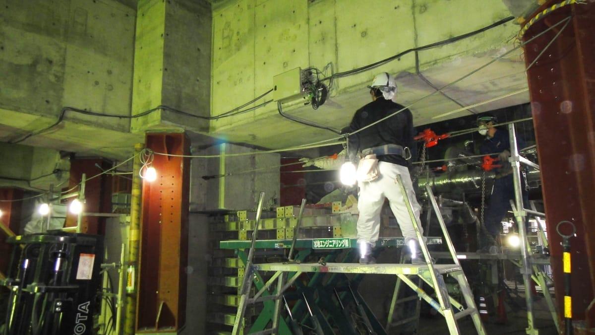 長野県庁本館棟耐震改修工事