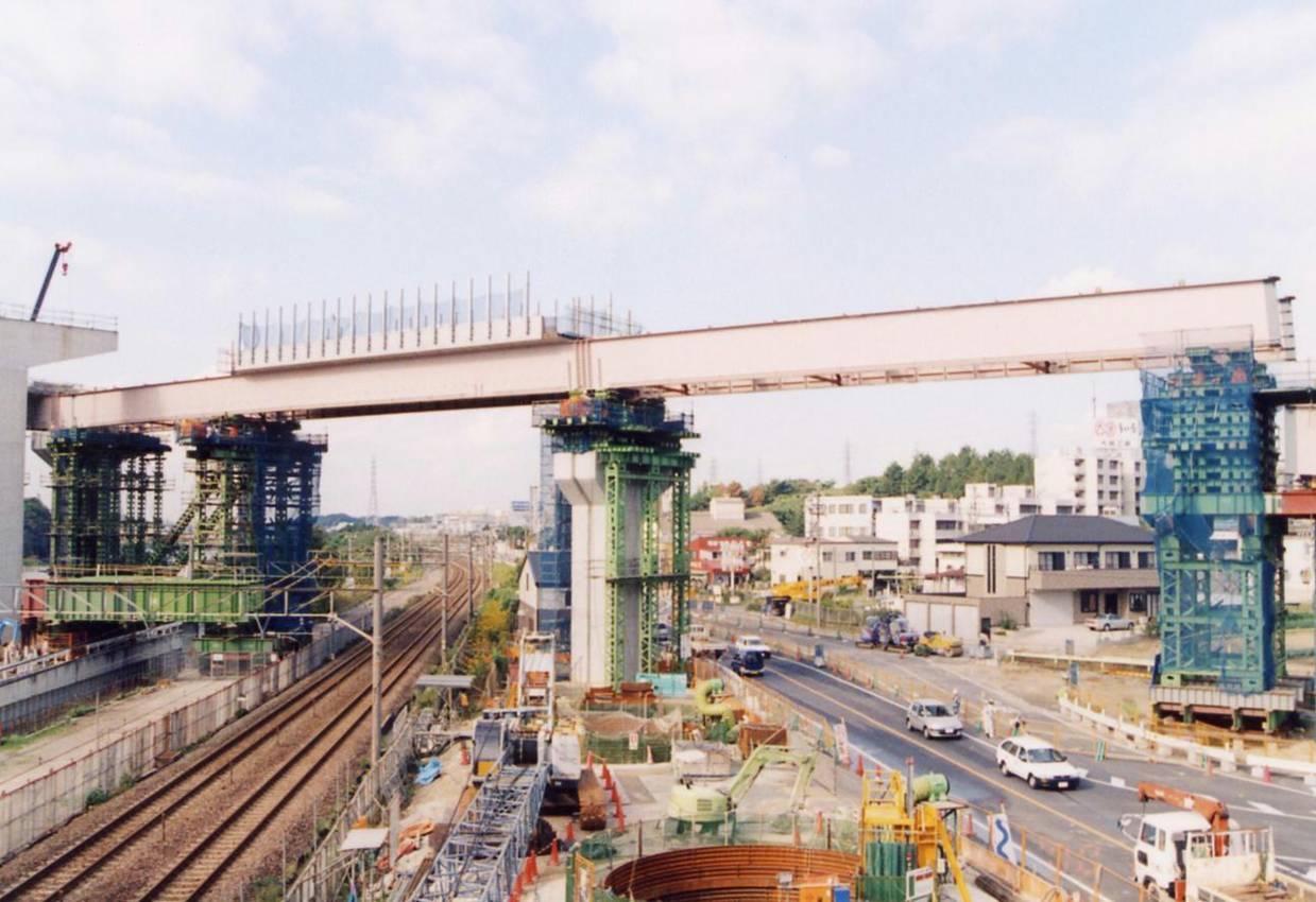 共栄こ線橋(Aランプ橋)