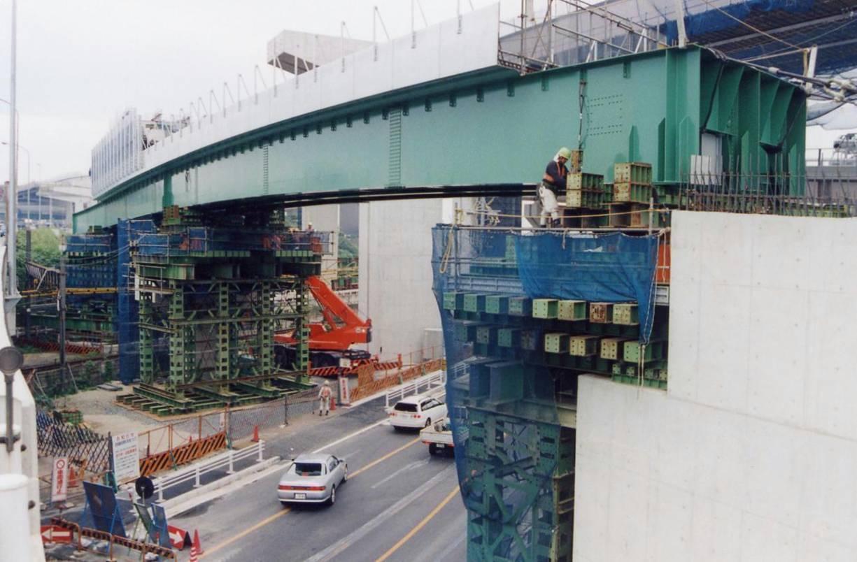 共栄こ線橋(Cランプ跨線橋)