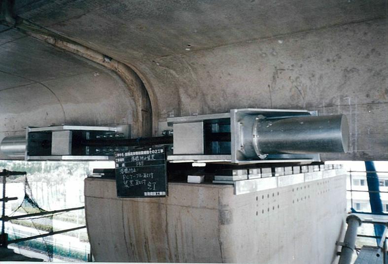 指扇高架橋耐震補強その2