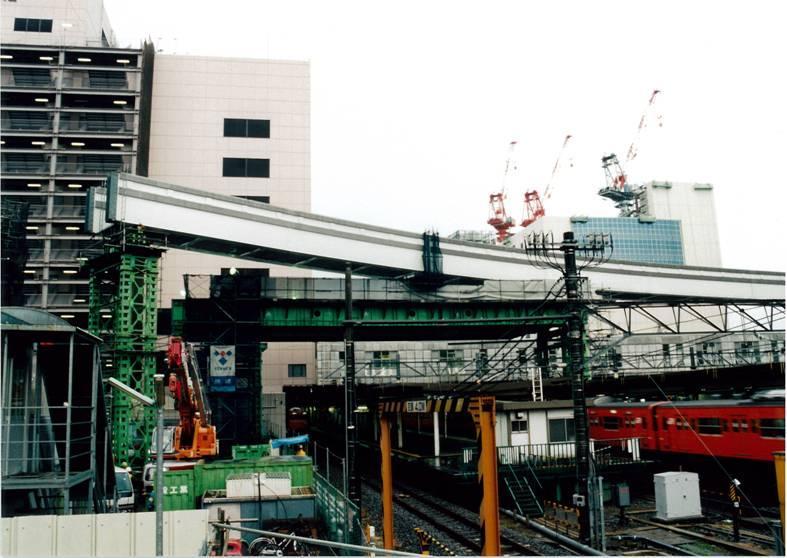立川駅構内多摩モノレール