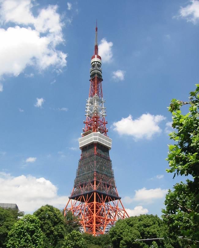 日本電波塔(東京タワー)補修他